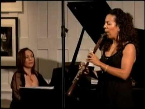 TransAtlantic Ensemble (Mariam Adam, clarinet/Evelyn Ulex, piano)
