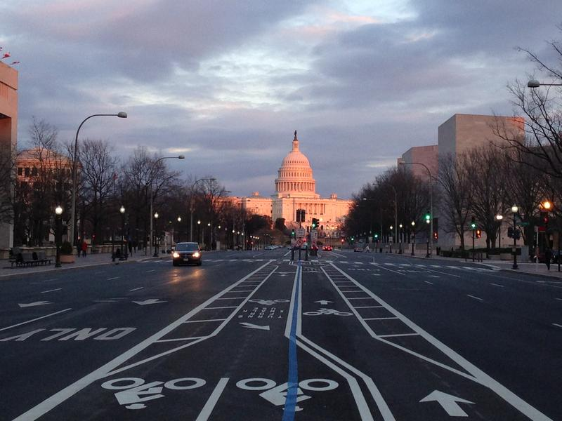 Capitol Hill in Washington D.C.