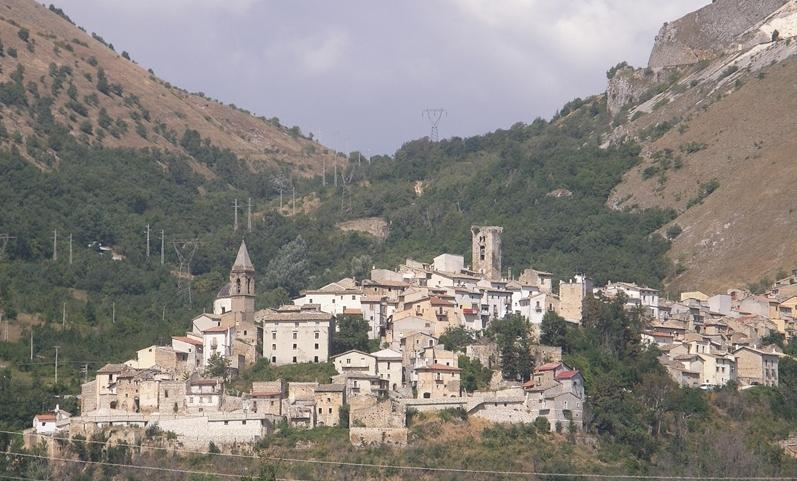 The village of Cocullo in Abruzzo, Italy.