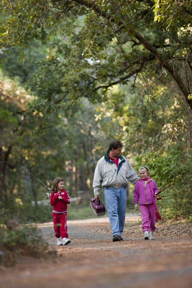 Famlies are returning to Bastrop State Park, and the department is hoping more and more residents head out to enjoy the outdoors.