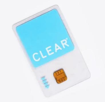 the CLEAR card.
