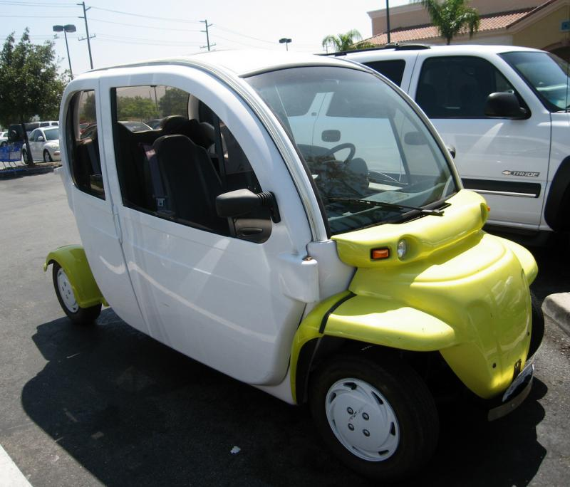 Neighborhood electric vehicles like this one, could start to be a common site in parts of San Antonio if the ban is lifted.