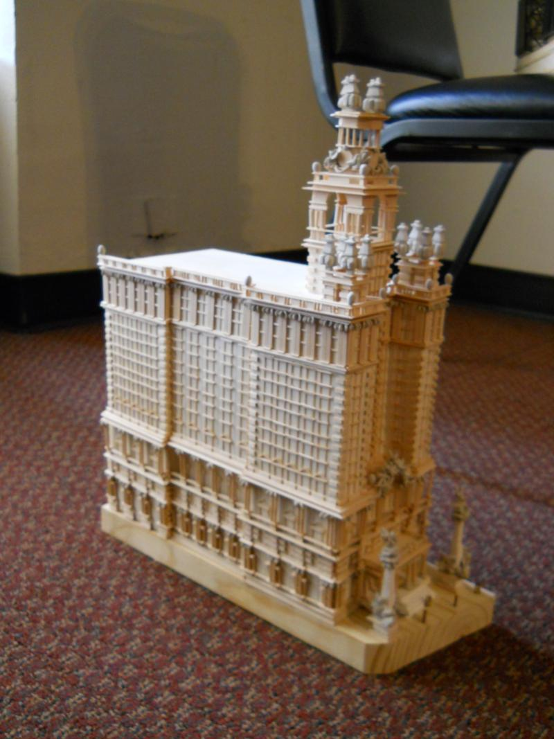 One student's design for replacing the Wolfson Bldg. across from Main Plaza