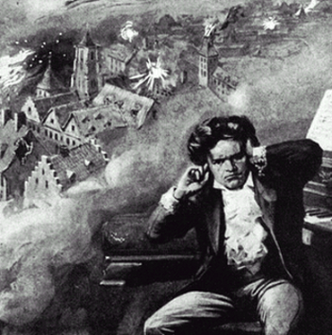Even in his dark period, Beethoven was too stubborn to let it keep him down.