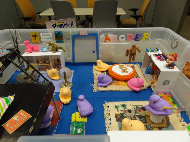 A look inside a early learning center.