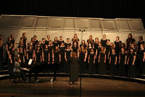Reagan High School Choir