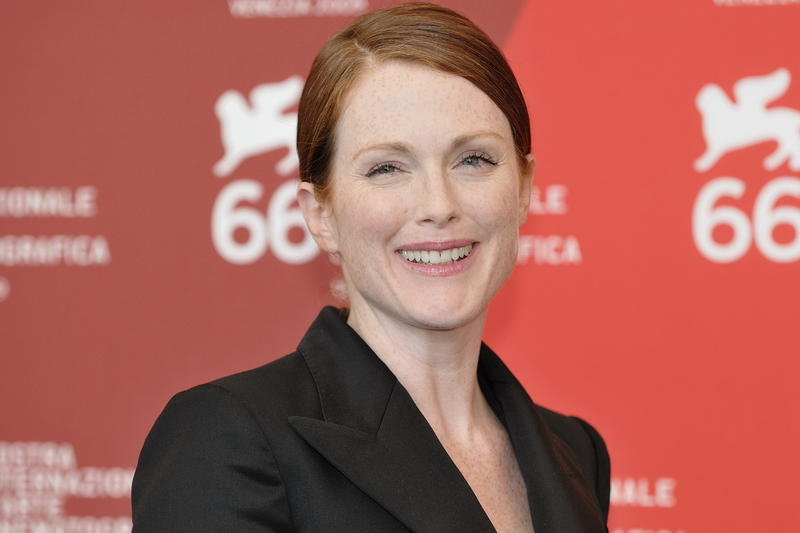 Julianne Moore, at the 2009 Venice Film Festival.