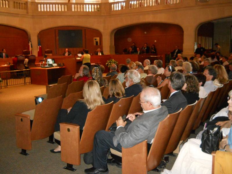 S.A. City Council heard from more than 30 opponents of a subdivision proposed near the Bracken Bat Cave