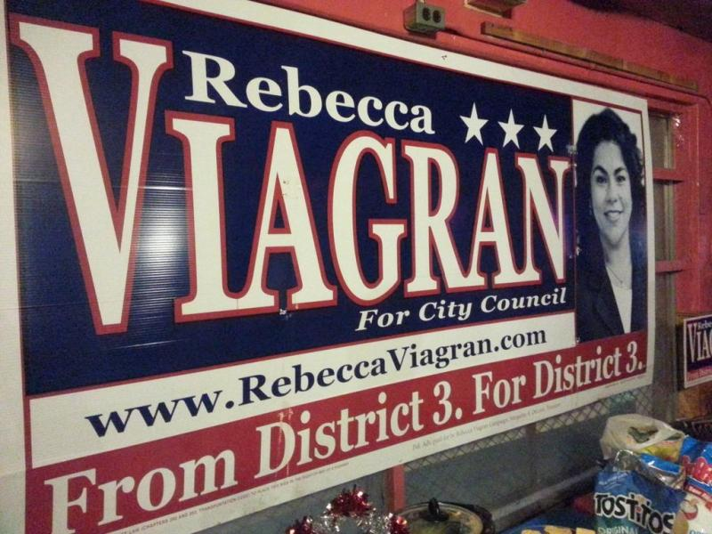 Rebecca Viagran isn't a newcomer to City Hall. She's been a council member aide and served on the Mayor's Status of Women Commission in 2011.