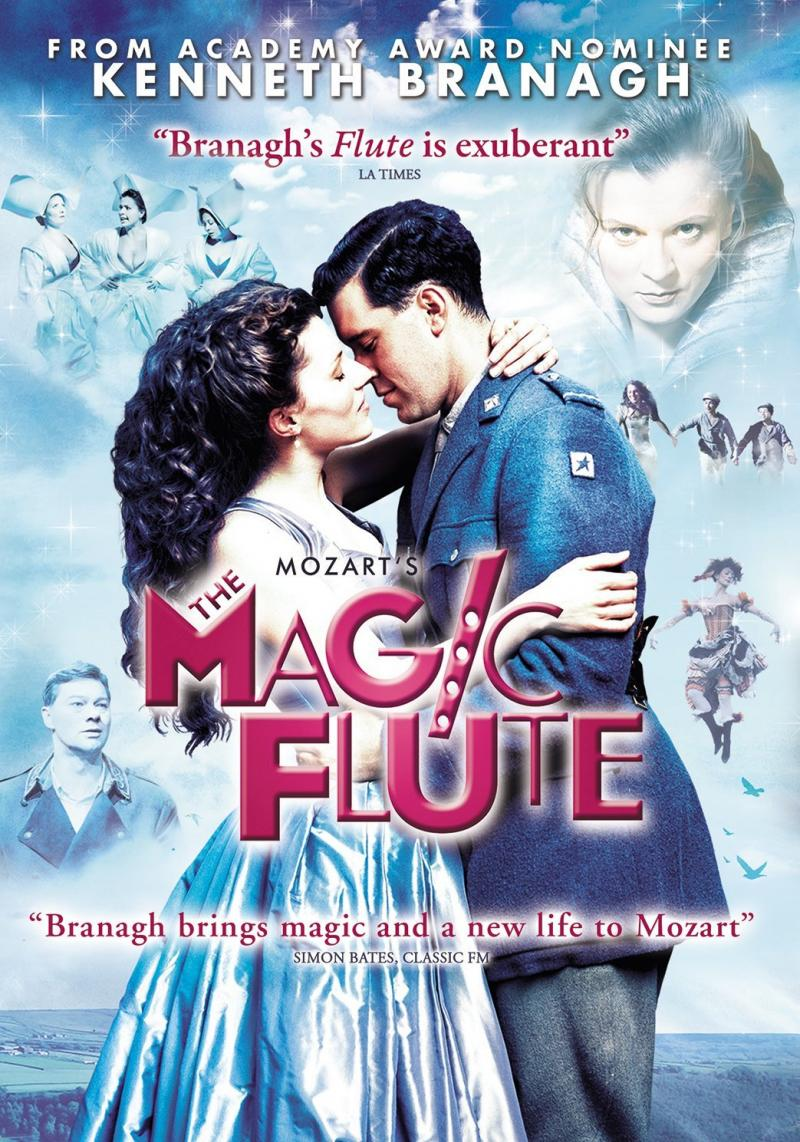 Now available on dvd, The Magic Flute