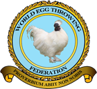 The Logo of the World Egg Throwing Federation