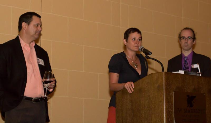 TPR's David Martin Davies, Shana Neel and Nathan Cone