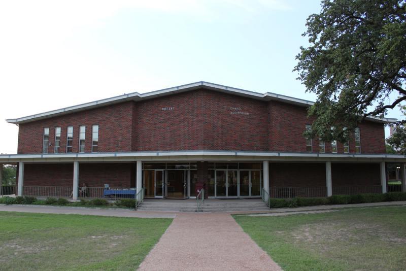 Dietert Auditorium at Schreiner University, Kerrville
