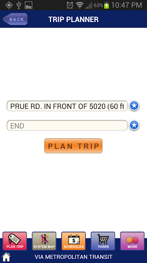 The Trip Planner is better than the regular online version.