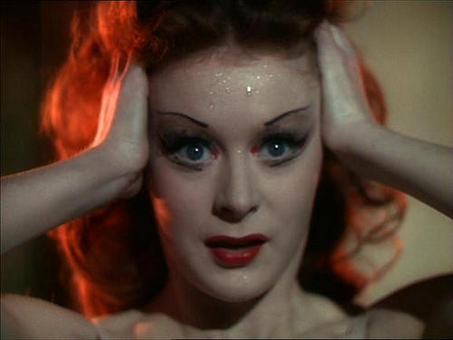 "Moira Shearer in ""The Red Shoes."""