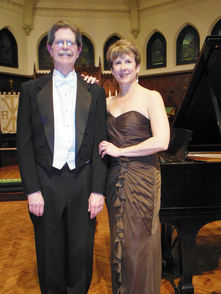 Pianist James Winn and Violinist Stephanie Sant'Ambrogio