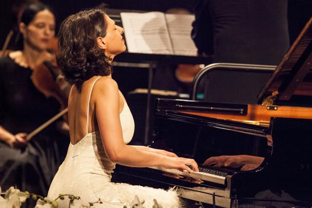 Pianist Katia Buniatishvili