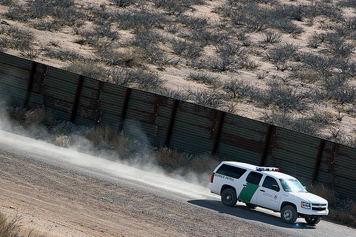 Border Patrol Agents Patrol the Arizona Border
