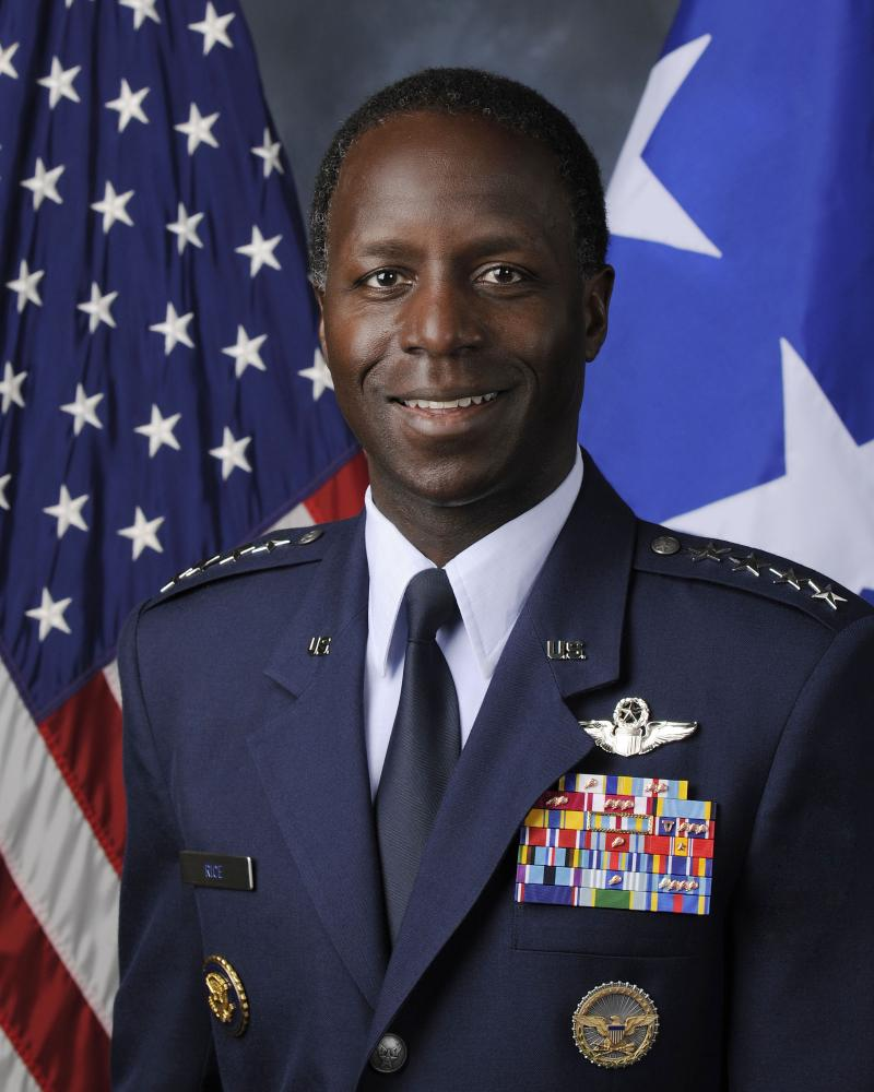 Gen. Edward A. Rice, Jr., Commander of the Air Education and Training Command, Joint Base San Antonio-Randolph.