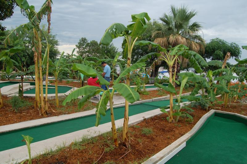 Cool Crest Miniature Golf reopened Sunday after having been closed for several years.