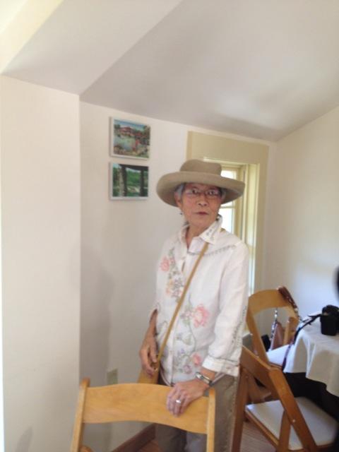 Mabel Jingu Enkoji visits the Jingu House