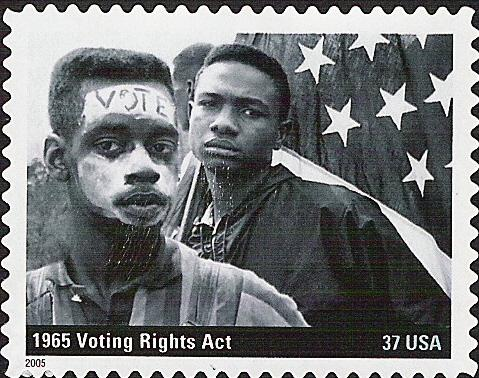 Stamp Commemorating the Voting Rights Act of 1965