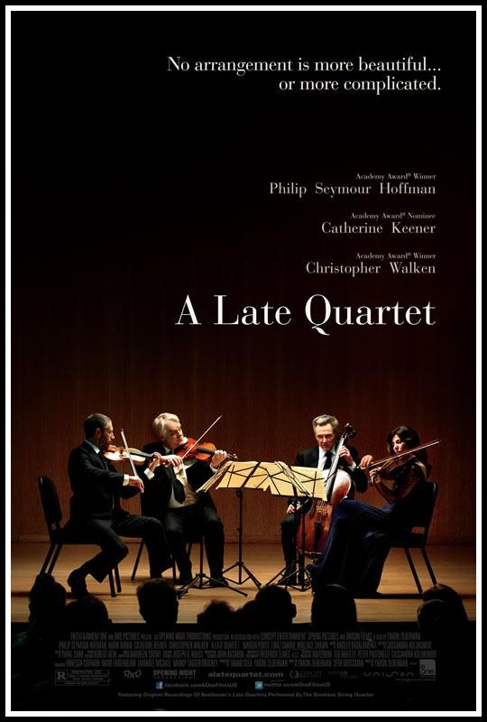 'A Late Quartet' poster