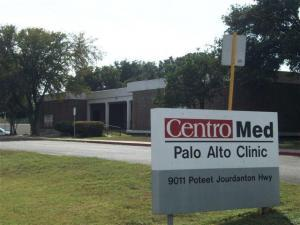 Centro Med Clinic at 9011 Poteet Jourdanton Freeway.