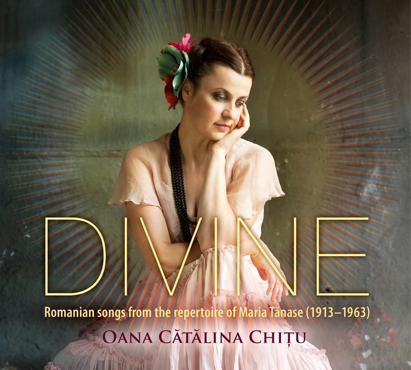 """Cover of """"Divine"""" with artist Oana Cătălina Chiţu"""