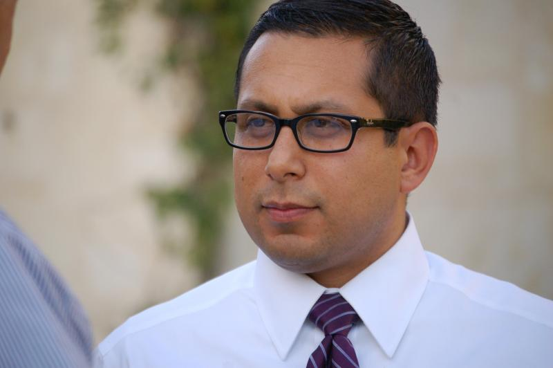 District 1 Councilman Diego Bernal disagrees with Mayor Julián Castro's proposal to cut City Council Project Funds.