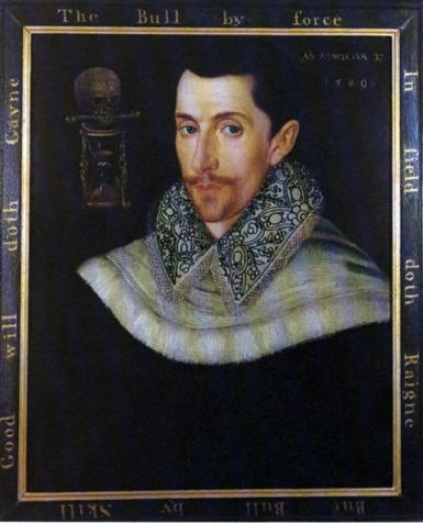 Composer John Bull (1563-1626)