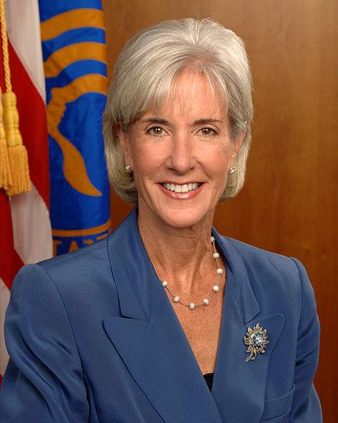 Official portrait of Health and Human Services Secretary Kathleen Sebelius.