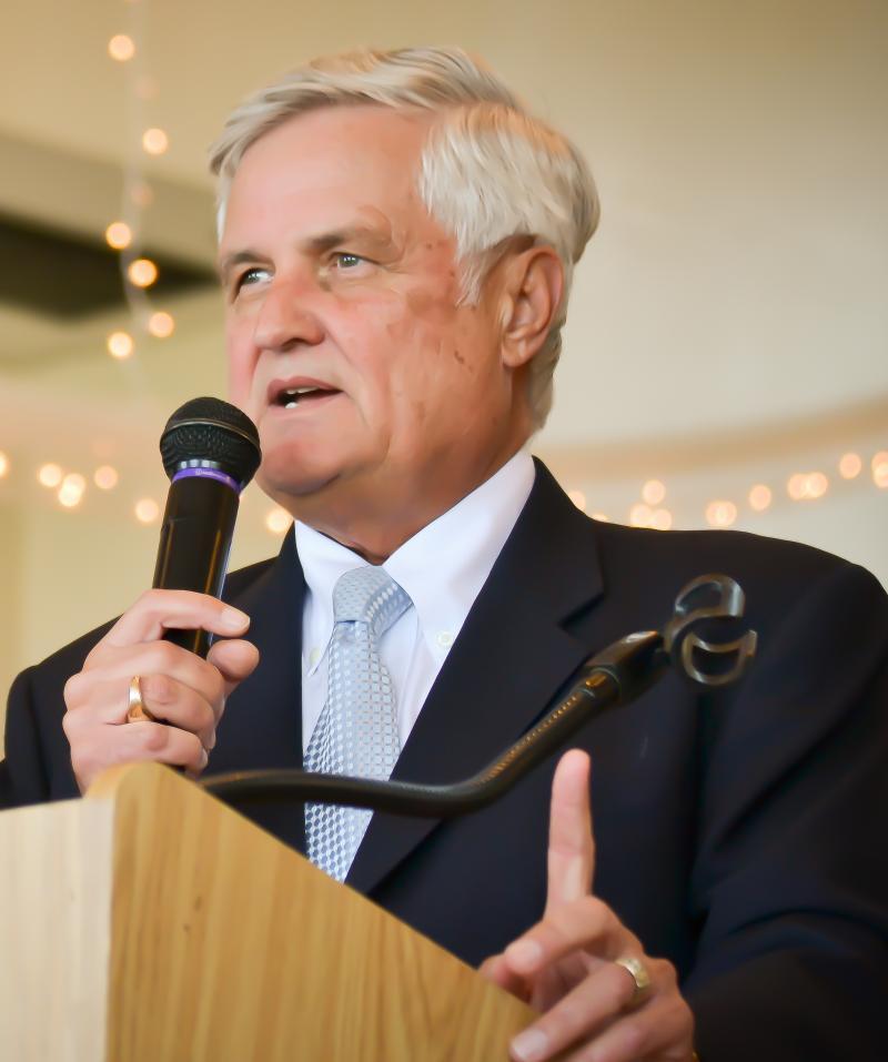Republican gubernatorial candidate Tom Pauken.