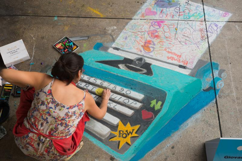 Chalk It Up is October 12 from 10 a.m. to 4 p.m.