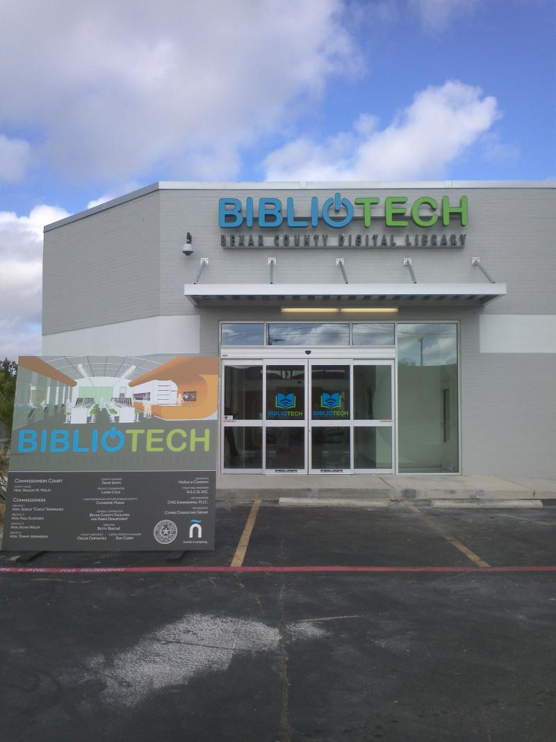 "The U.S. Chamber cited San Antonio's ""culture of business"" in its award as one of the top cities for business growth in the U.S. Bibliotech, opened in South San Antonio Sept. 14, 2013, is one of the elements that has contributed to that culture."
