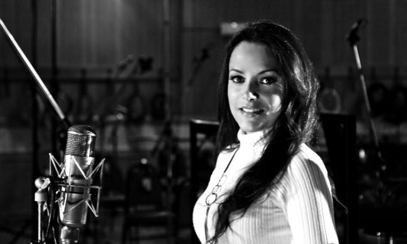 Barbara Padilla at Abbey Road.