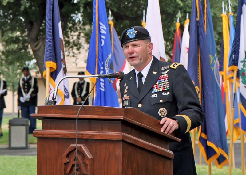 LTG Perry Wiggins, first speech as Commander of AR North, Sept. 4, 2013