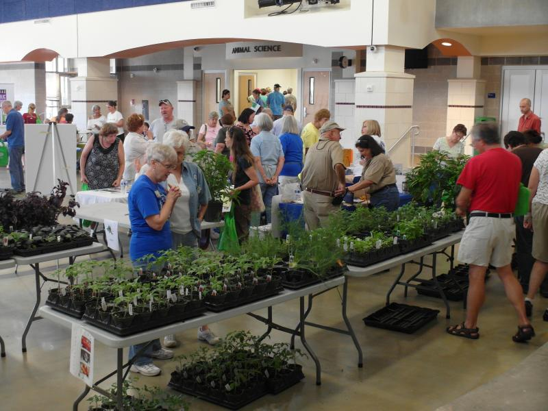 Master Gardeners exhibit