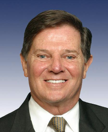 Former House Majority Leader Tom DeLay of Texas.