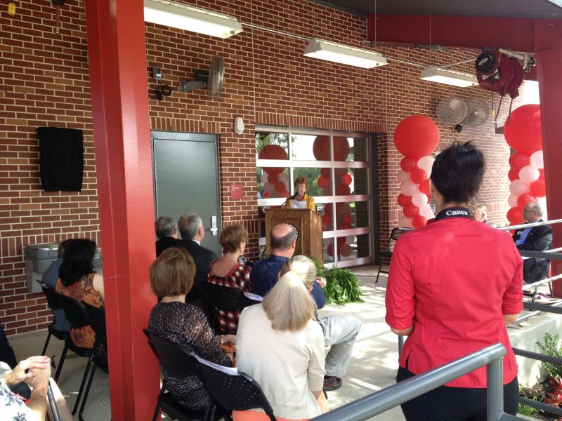 UIW's Ruth Eilene Sullivan Ceramic and Sculpture Studio Dedication