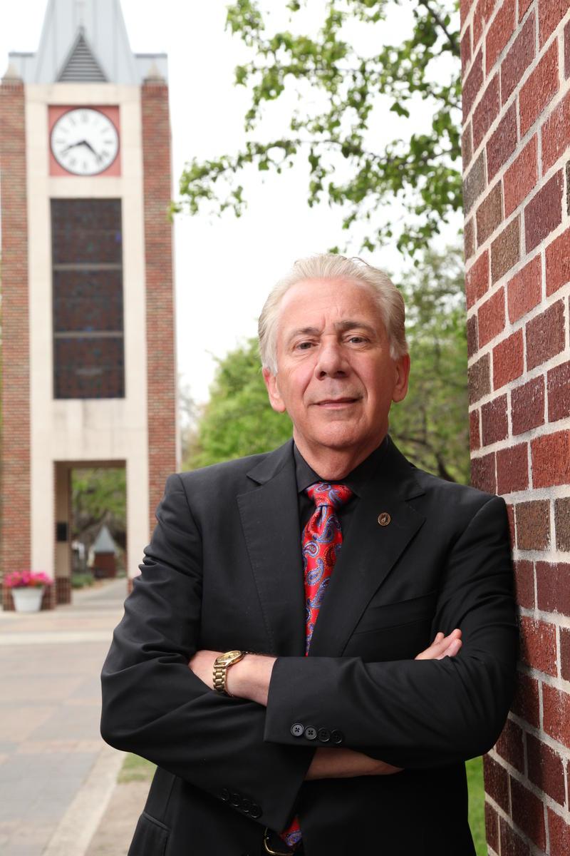 UIW president Dr. Lou Agnese.