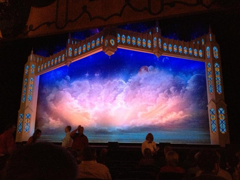 The heavens are about to open at the Majestic Theatre.