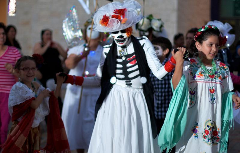 Urban 15's Carnaval de los Muertos celebration 2012.