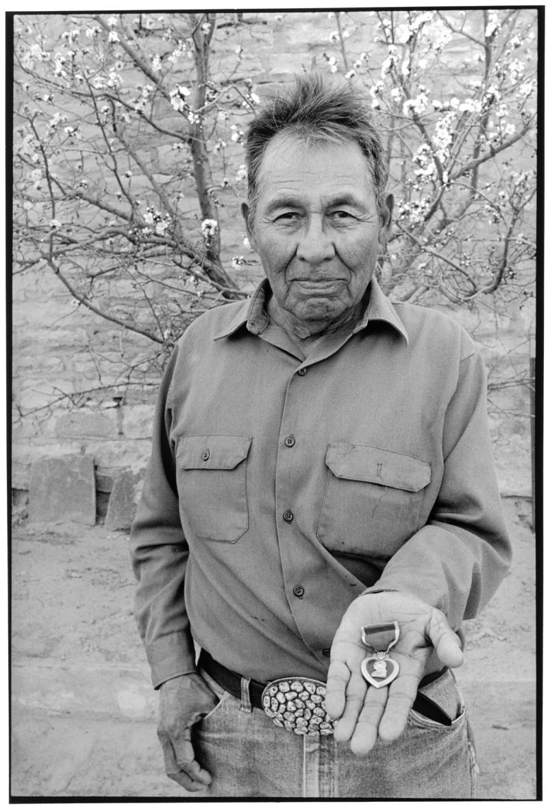 Johnnie Alfred (Navajo), Tuba City, Arizona, 1989.