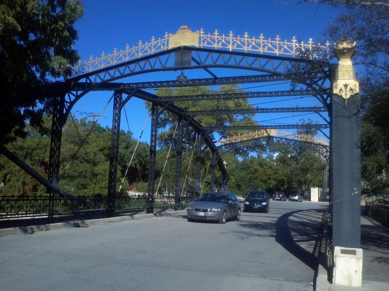 Historic bridges throughout the park are honored as part of the Brackenridge heritage in its new designation as a State Archaeological Landmark