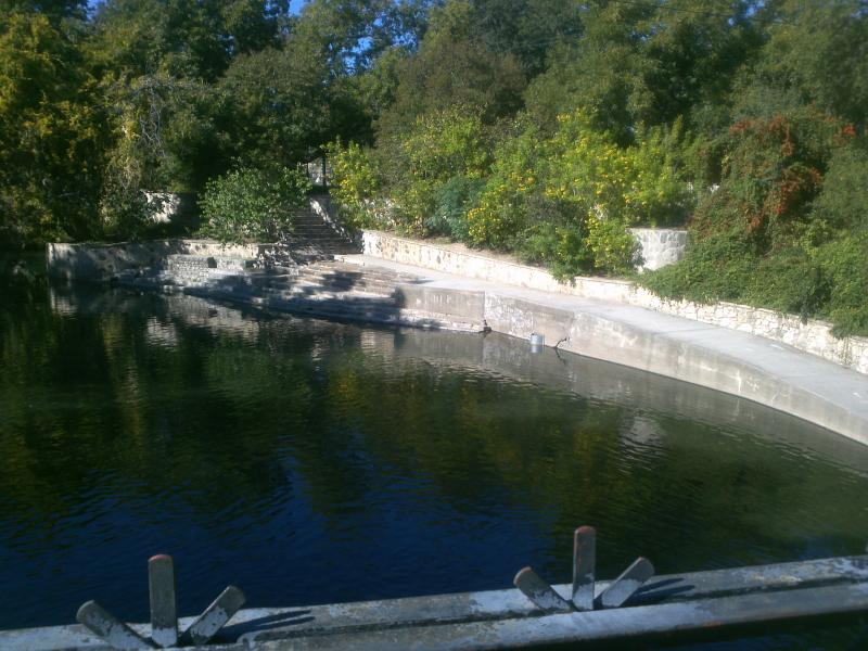 The San Antonio River in Brackenridge Park