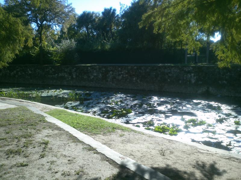The San Antonio River provided resources for prehistoric cultures through colonial settlements