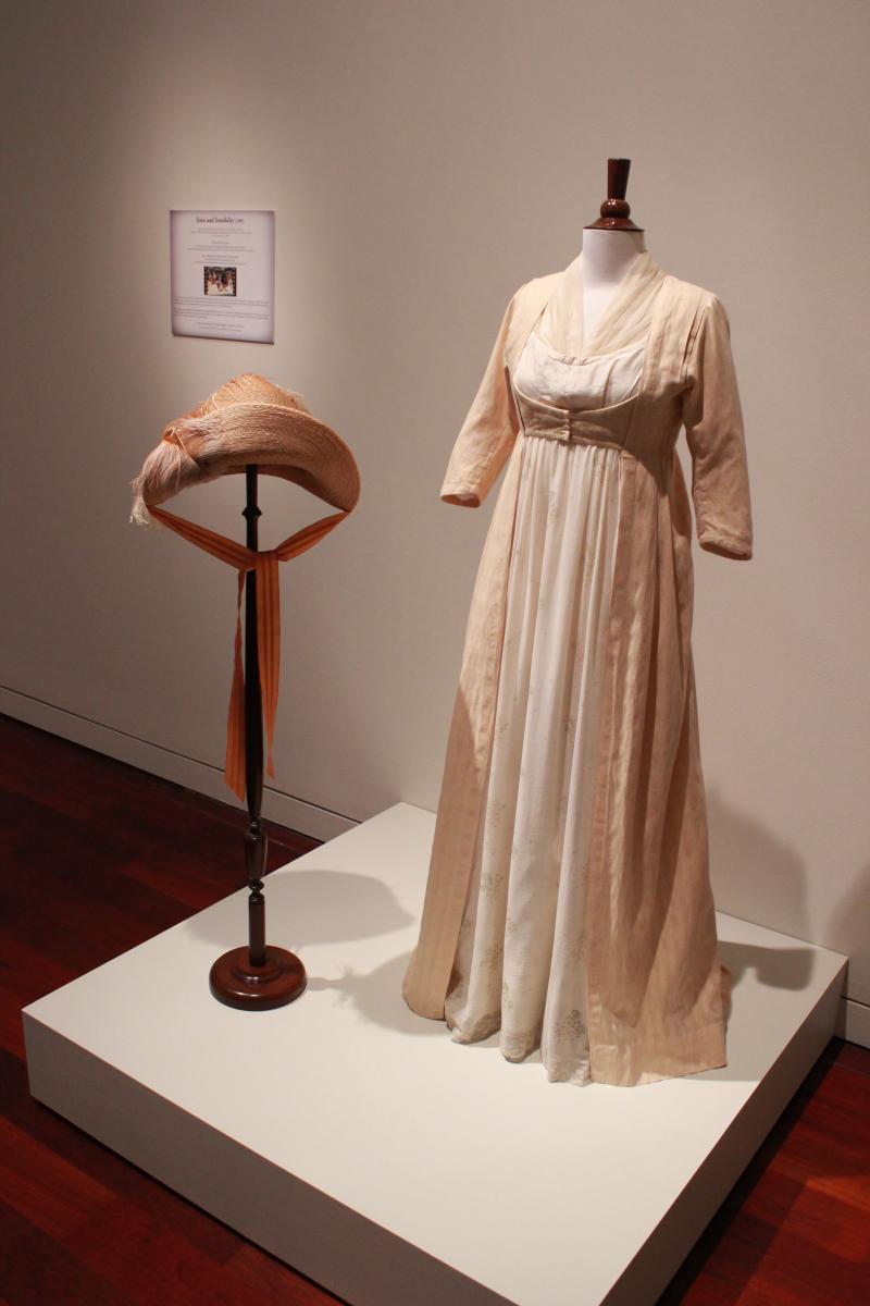 "For ""Sense and Sensibility,"" Kate Winslet wore a cotton muslin dress."