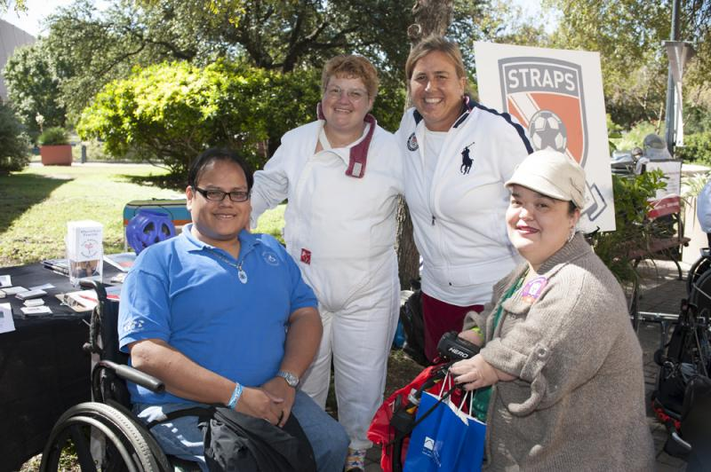AccessAbility Fest 2012 at Hemisfair Park.