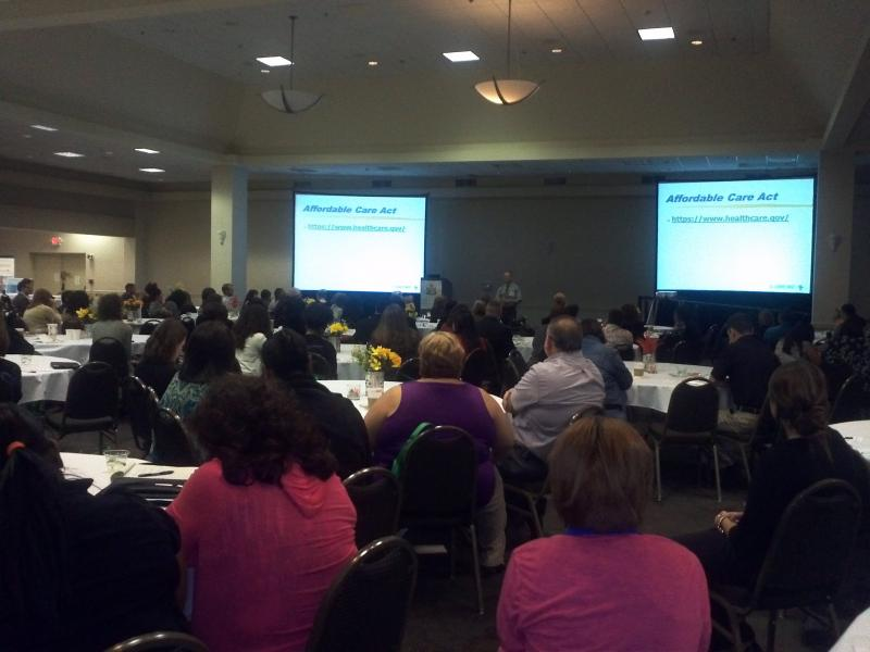More than 200 local health care workers attend the 9th Annual San antonio Health Literacy Conference.